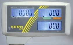 Modernes Display an der KERN RFS Waage