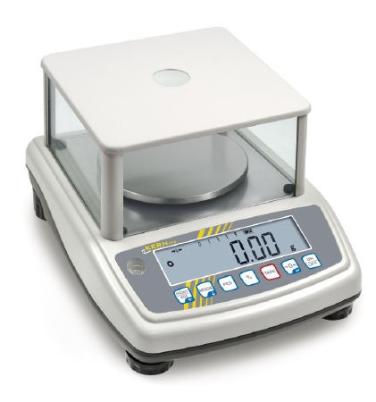 Digitalwaage mit Laborgenauigkeit, zum Beispiel zum Einsatz in der Goldschmiede oder im Dentallabor.