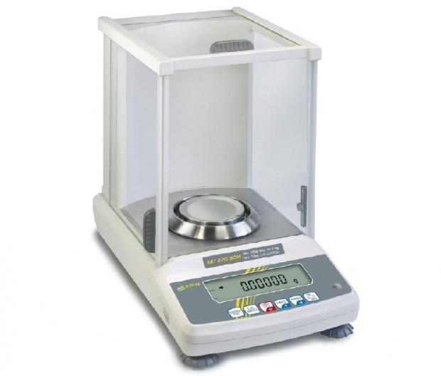 Modell ABT 120-5DM von Kern, eichfähig, Analysenwaage