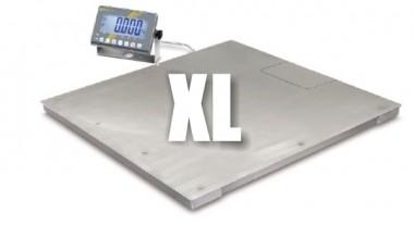 XL Edelstahl Bodenwaage 3000kg KERN BAN 3T-3M - Edelstahl IP68, eichbar