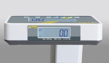 Personenwaage geeicht erhältlich - mit Stativ Kern MPE 250K100PM