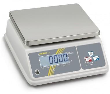 Kern Tischwaage 3kg/1g mit Feuchtigkeitsschutz (IP65)