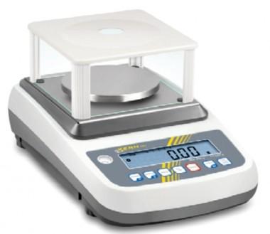 Kern Präzisionswaage - 600g / 0.01g -geeicht bestellbar- Für Labore, Arztpraxis oder Kosmetikherstellung