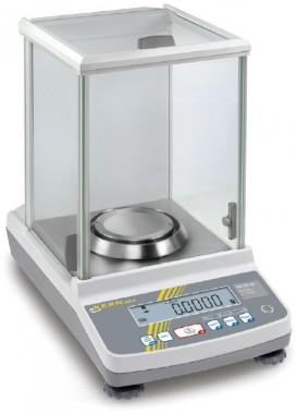 Analysenwaage - geeicht bestellbar - Laborbereich 120g/0,1mg
