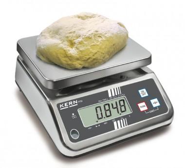 Bäckerwaage Teigwaage - Eichfähig 1,5kg / 0,5g