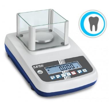 Professionelle Dentalwaage - für zahntechnische Labore 600g / 0,01g Eichklasse II