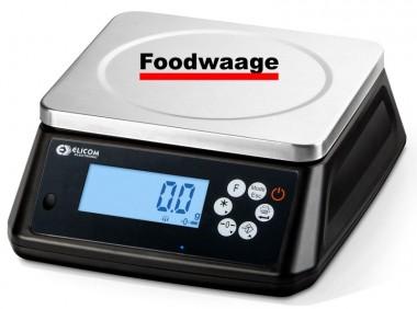 Foodwaage mit Eichzulassung