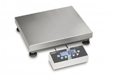 Industrie Plattformwaage mit Edelstahl-Wägeplatte bis 600kg