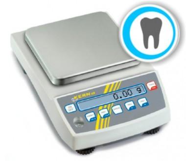 Professionelle Dentalwaage mit Eichzulassung - Laborqualität  650g/0.01g