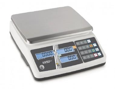 Preisrechnende Ladenwaage - Wiegen mit Eichung 15kg Eichklasse 3
