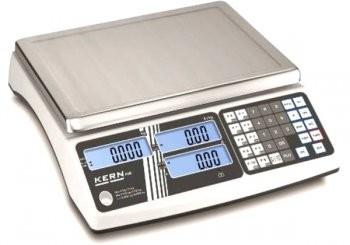 Preisrechnende Kern Ladenwaage max. 15kg