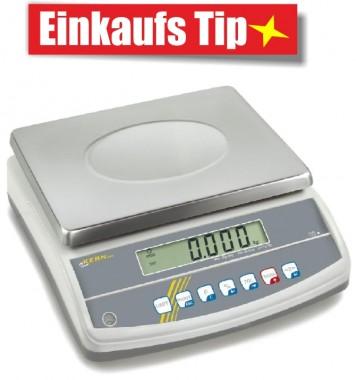 Waage für Kontrollwägungen Checkweigher bis 30 kg - KERN GAB