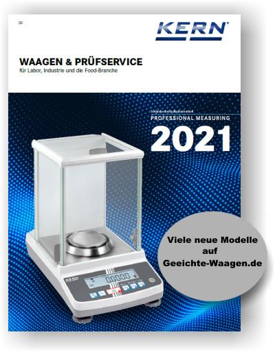 Kern Waagen Katalog 2021